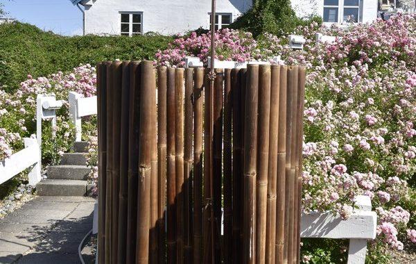 Kabine udebad i bambus