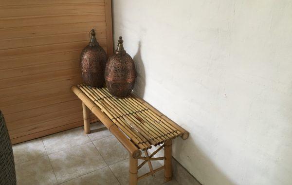 Bambusbænk