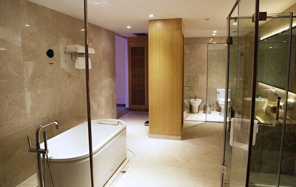 bambusplade til væg badeværelse