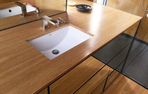 bordplade til sænket håndvask